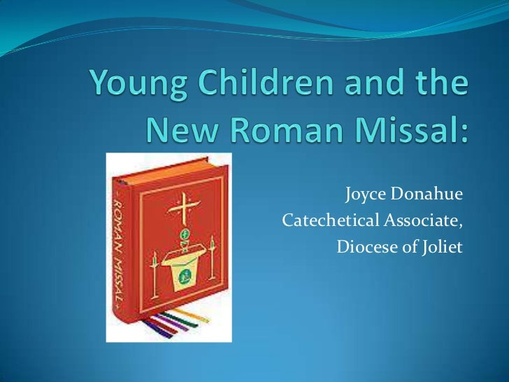 Young Children and the New Roman Missal