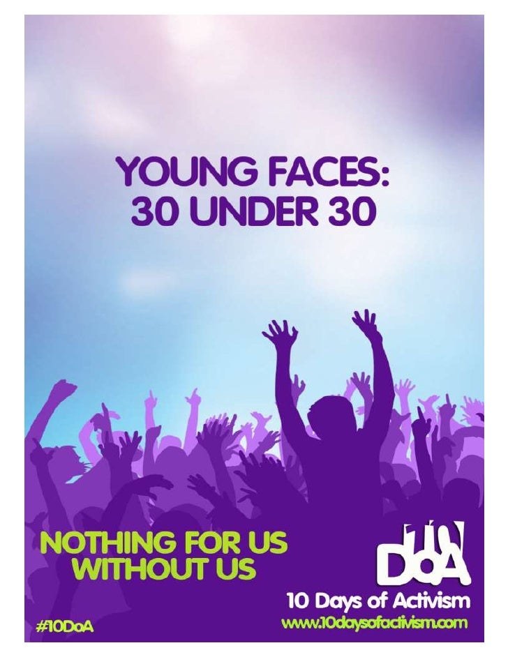 Young faces: 30 under 30