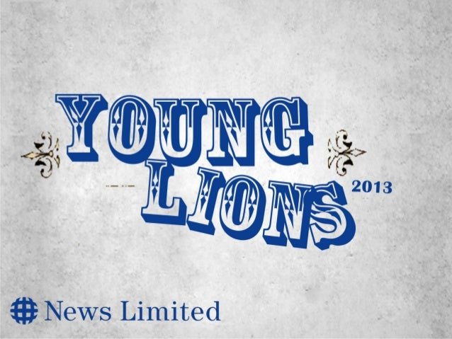 Young lions 2013 by Kim Verbrugghe
