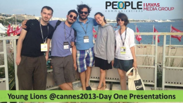 Young lions @cannes2013 day one presentations