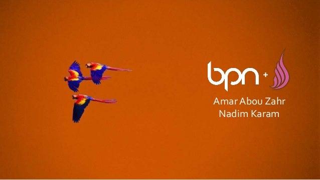 AmarAbou Zahr Nadim Karam +