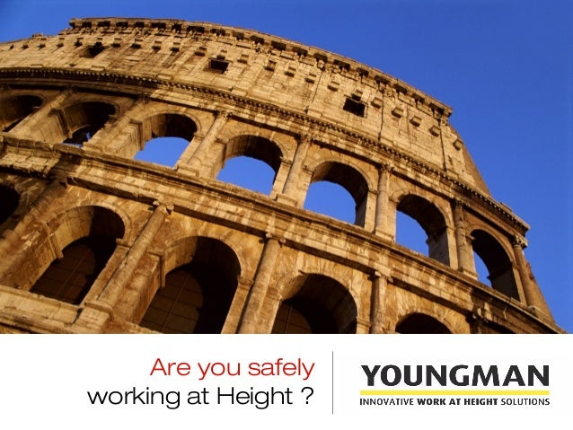 Are you safelyworking at Height ?