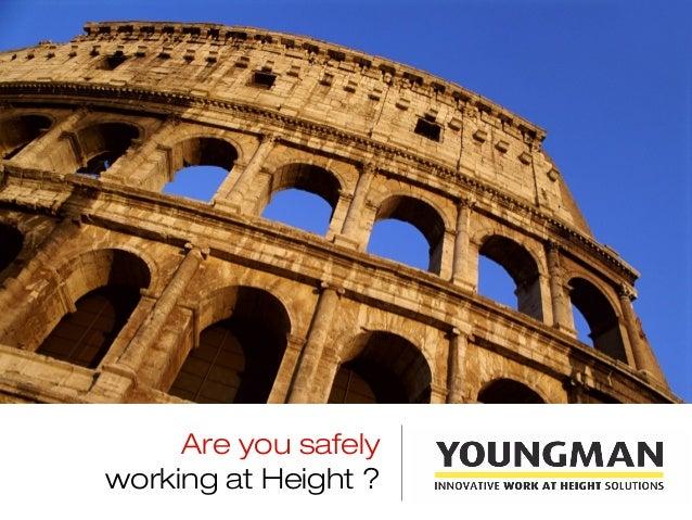 Youngman India presentation safe work at height