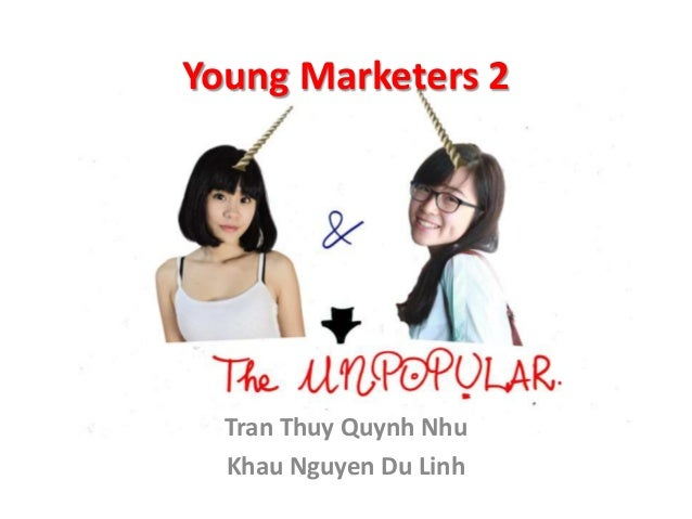 Young Marketers 2 - The Unpopular