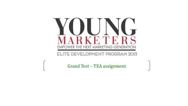 Grand Test – TEA assignment