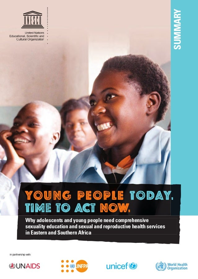Young people today, time to act now