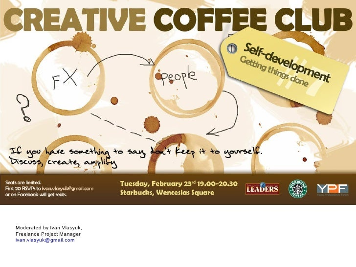 Young Professionals Forum.Cz   Creative Coffee Club   Agenda And Minutes   Feb 23rd