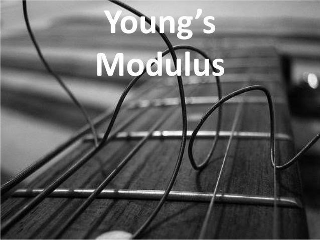 Young'sModulus