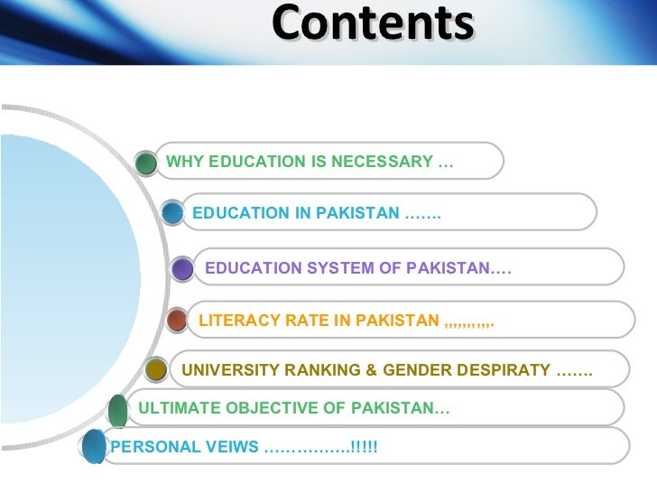 essay on education system in pakistan How can we improve education system in pakistan here is the list of drawbacks of education system in pakistan and how we can improve those drawbacks as written here.