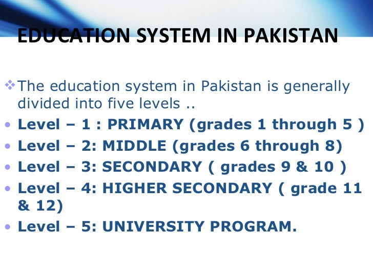 essay education system in pakistan Best Weight Loss Factor
