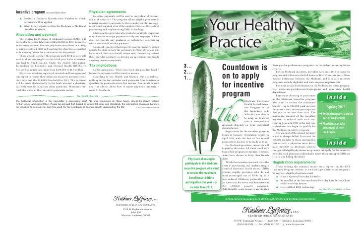 Your Healthy  Practice 2011