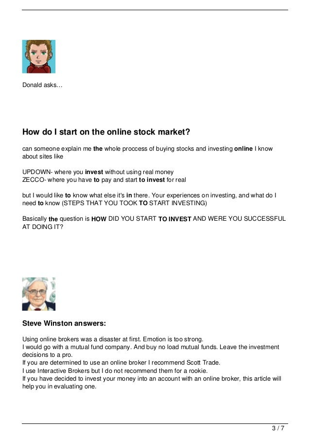 Online Share Trading Account For Investments In Stock ...