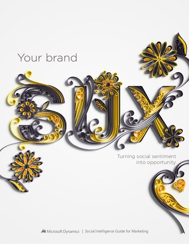 Your brand sux – turning sentiment into opportunity