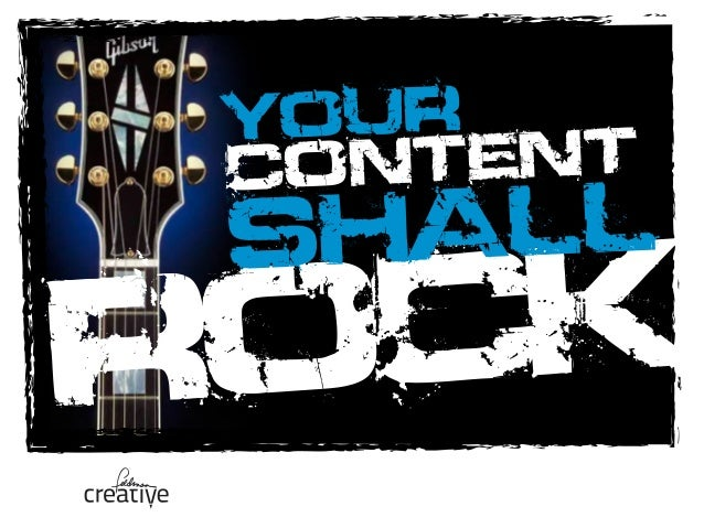 ROCK YOUR CONTENT SHALL