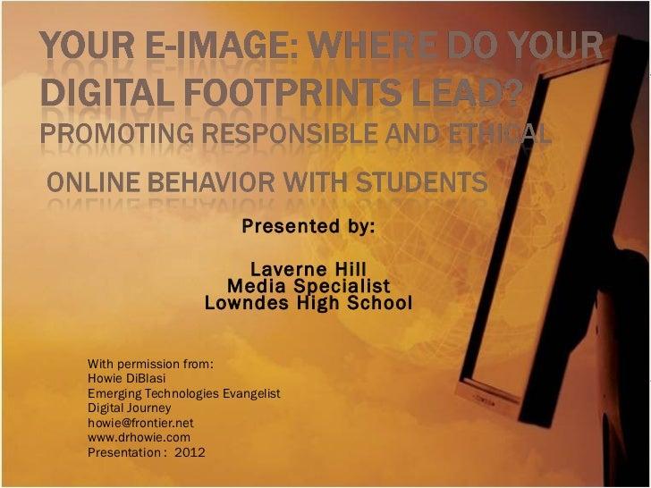 Your e image presentation
