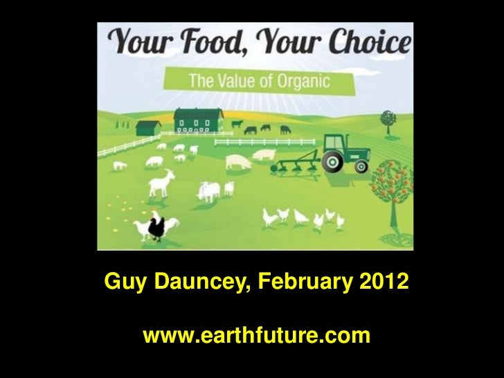 Your Food, Your Choice Guy Dauncey
