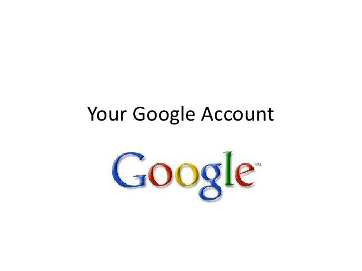 Your google account