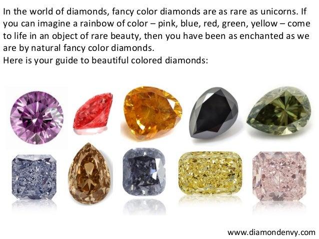 Rarest Diamond Color In The World