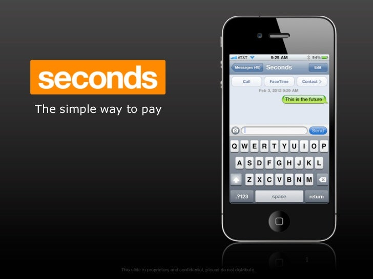 Your life in seconds