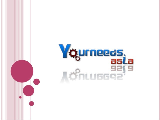  About Yourneeds.asia Yourneeds.asia is a professional web designing company based in Hyderabad, offering high quality G...