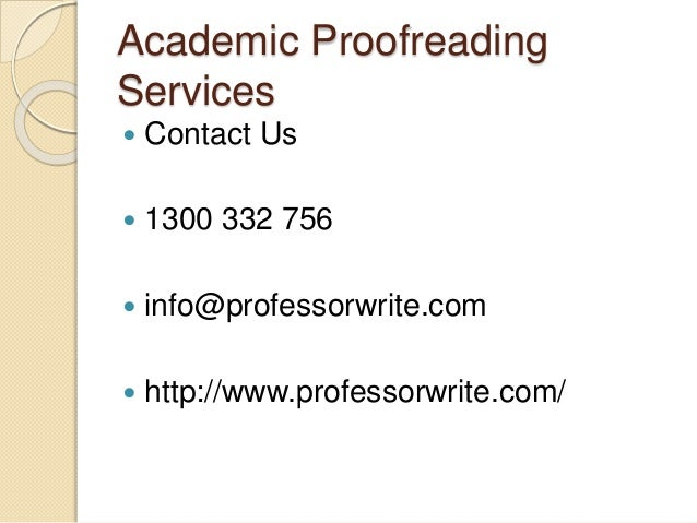 Online paper editing service