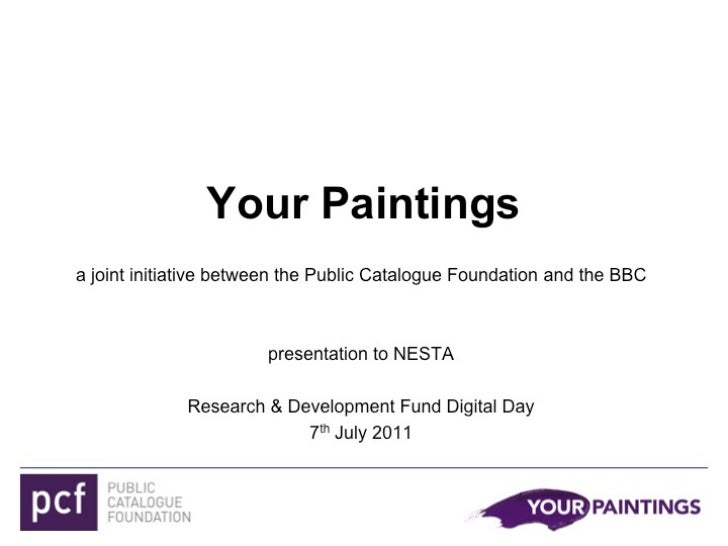 Case study: Your Paintings
