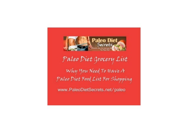 NOTE: ALL THE LINKS IN THIS VIDEO ARE FULLY INTERACTIVE. YOU CAN CLICK ON THEM WHENEVER YOU WISH.  Your Paleo Diet Grocery...