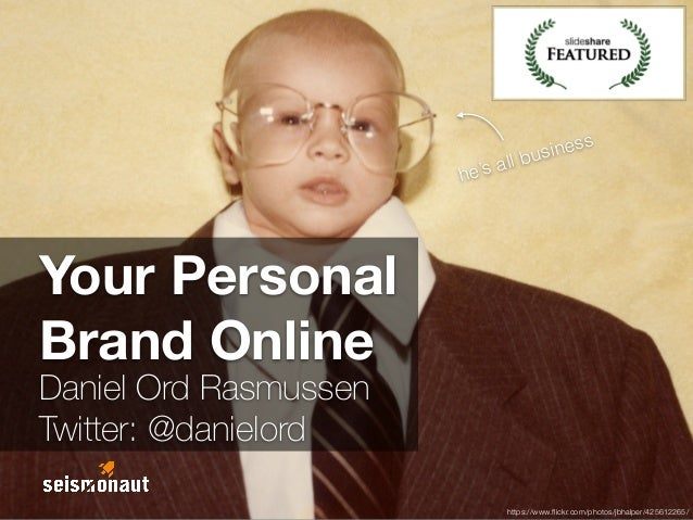 Your Personal Brand Online