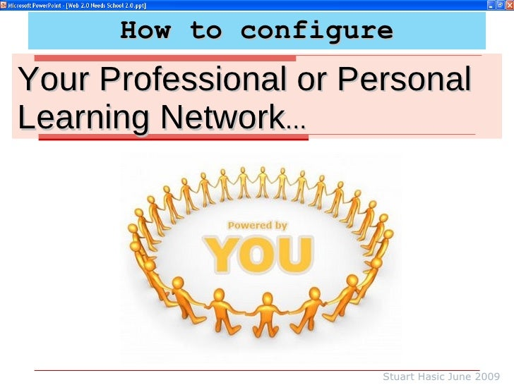 How to configure Your Professional or Personal Learning Network ... Stuart Hasic June 2009