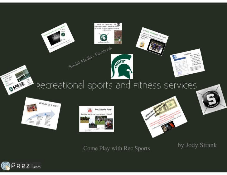 Final Presentation-Recreational Sports and