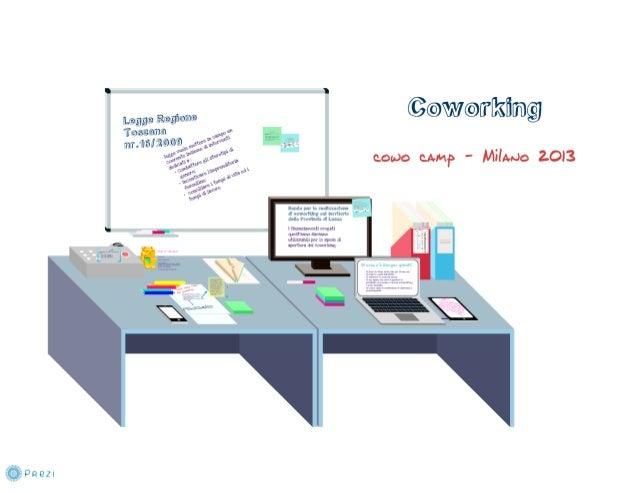 Coworking e Incentivi: Provincia Lucca - Ass. Federica Maineri - CowoCamp13