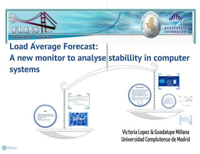 Load Average Forecast: A new monitor to analyse stability in computer systems