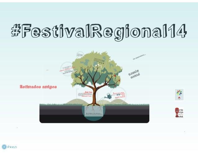 Presentación del #FestivalRegional14 de La Rioja
