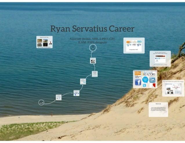 Career Designations of Ryan Servatius