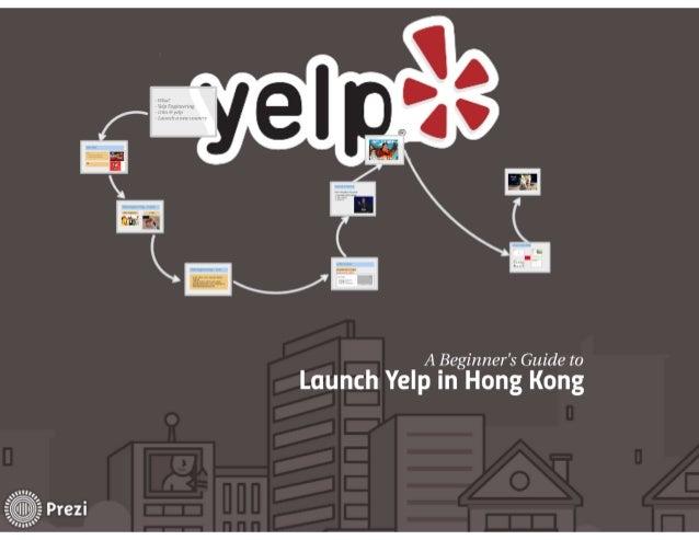 A Beginners Guide To Launching Yelp In Hong Kong
