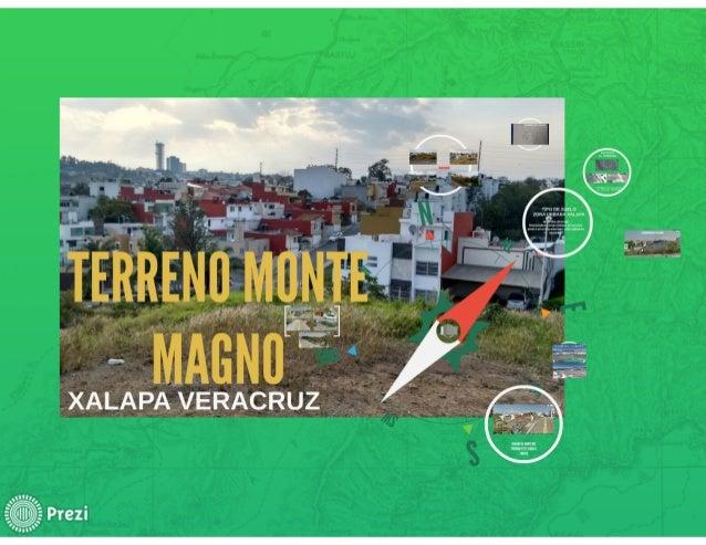 localizacion del terreno monte magno xalapa veracruz