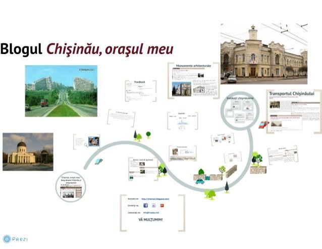 Blogul Chişinău, oraşul meu