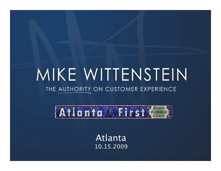 Atlanta 10.15.2009