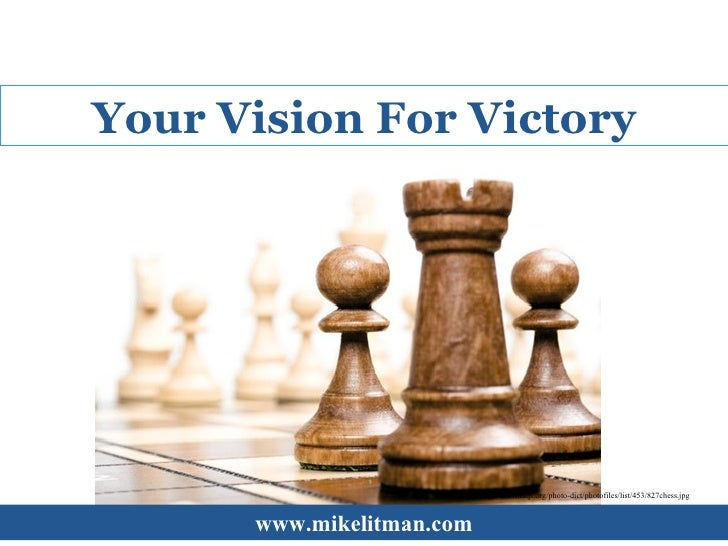 Your Vision For Victory
