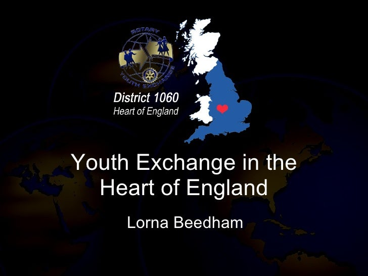 Youth Exchange in the Heart of England Lorna Beedham