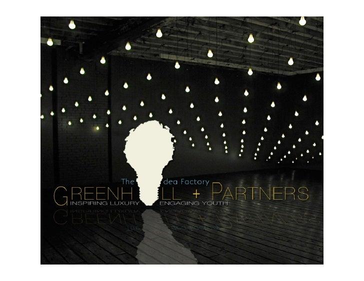 Duke Greenhill Partners - Youth Mobile Marketing