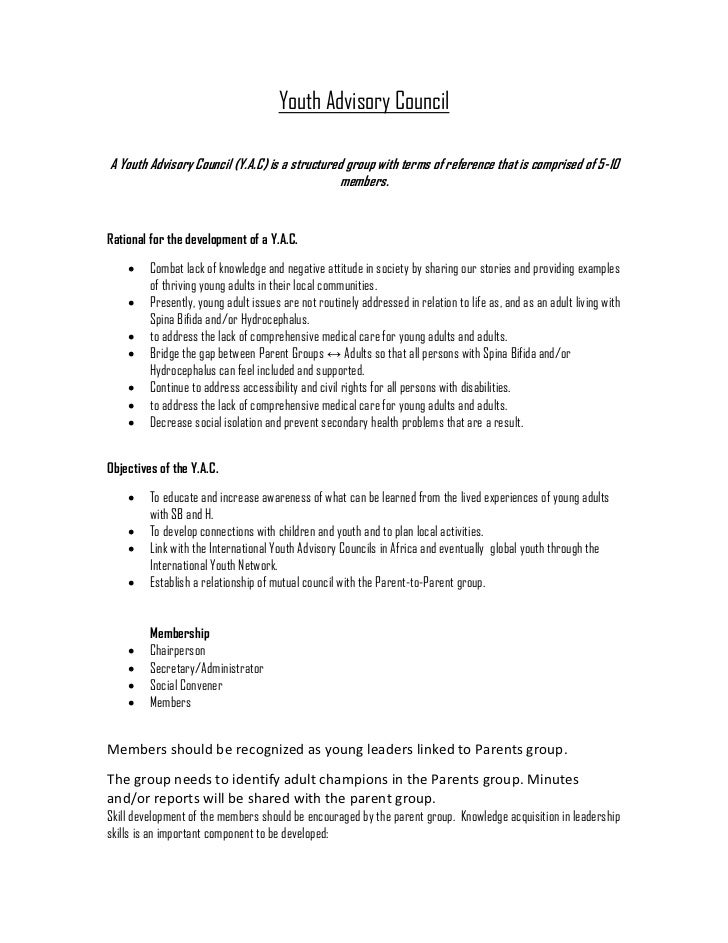 Youth advisory council_template