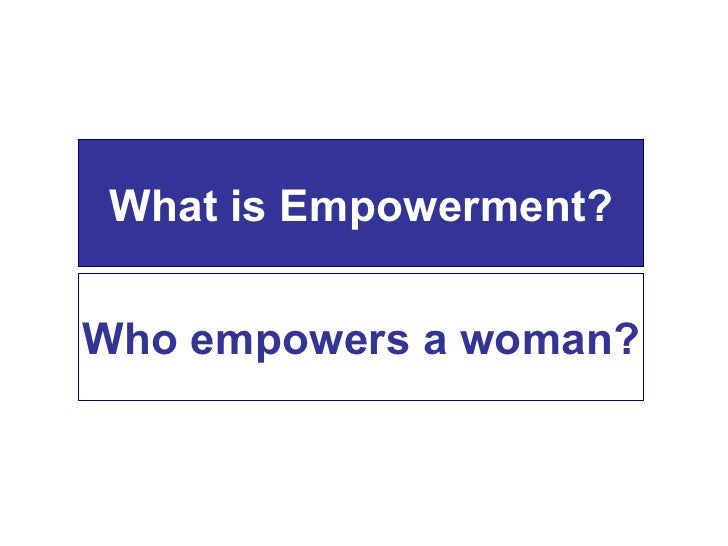 Youth and Women&'s Empowerment
