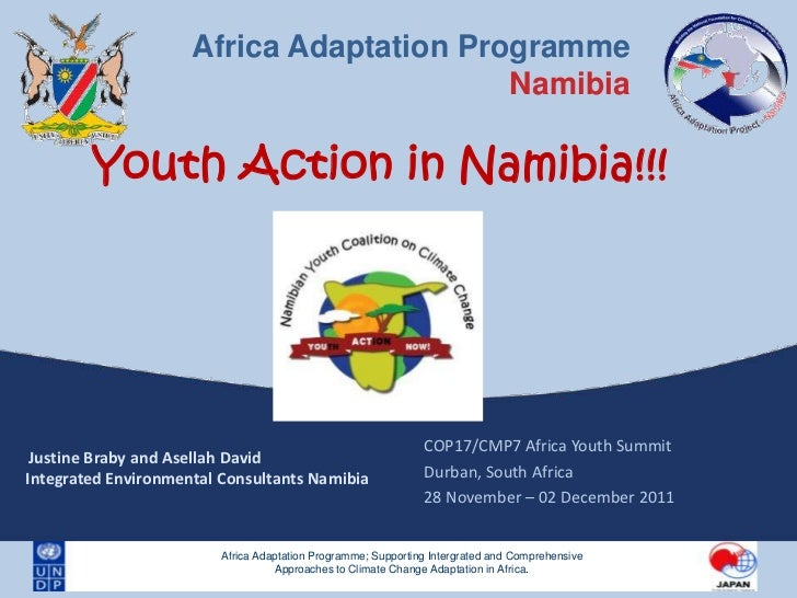 Youth Action on Climate Change: A Case Study of Namibia