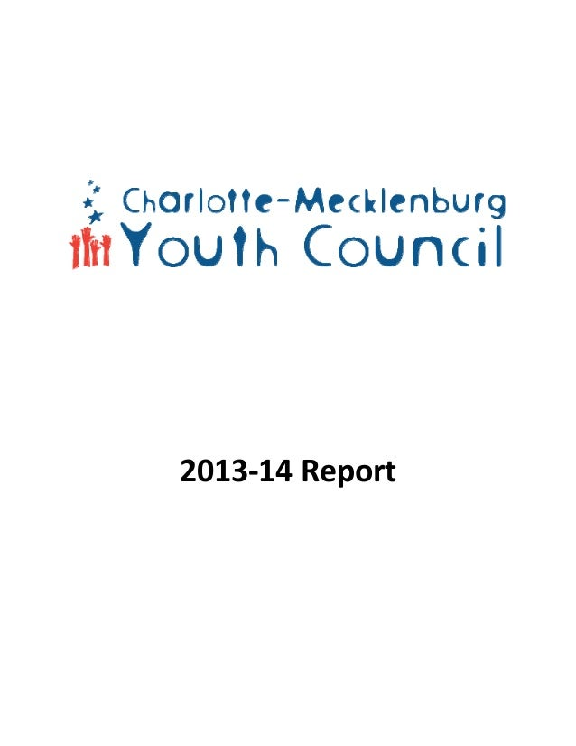 Charlotte-Mecklenburg Youth Council Report 13-14