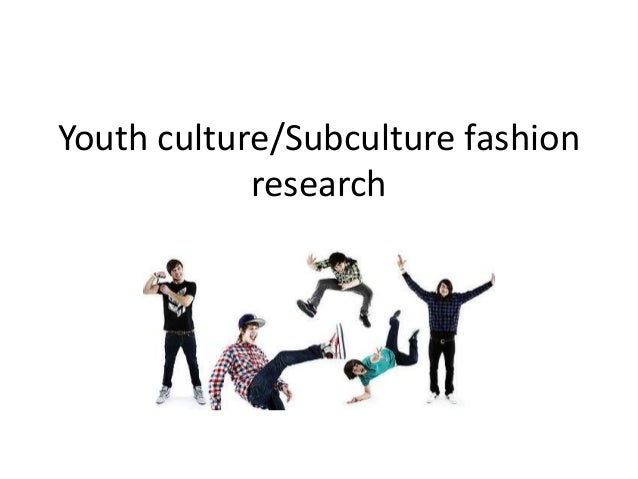 Youth culture and subculture in roche