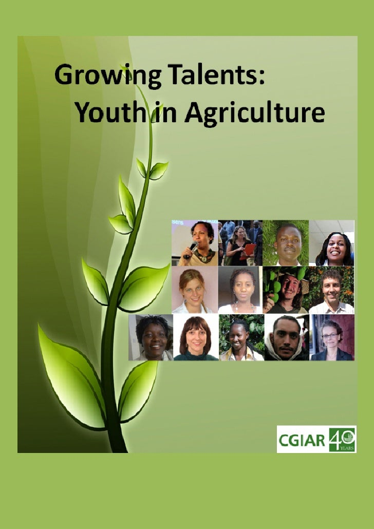 Growing Talents: Youth in Agriculture