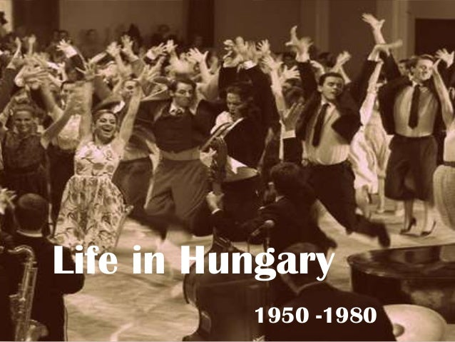 Youth in Hungary 1950-1980