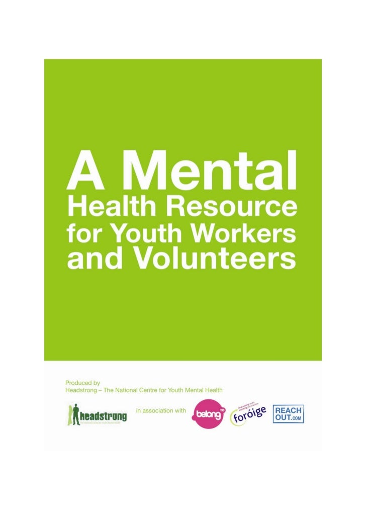 Youth mental health resource