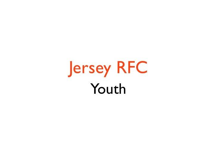 Jersey RFC   Youth